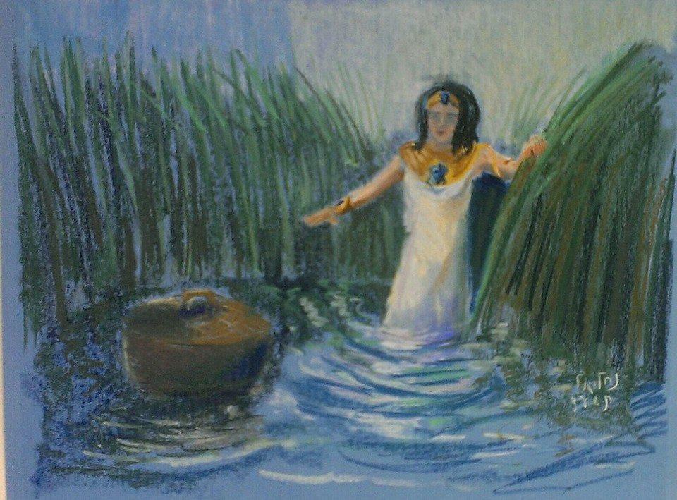 11 בת פרעה ותיבת משה